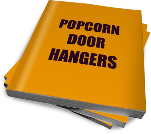 Popcorn Door Hanger picture